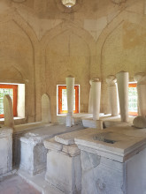 Darülhadis Mosque in Edirne - the mausoleum's interior