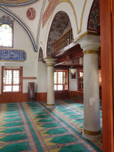 Darülhadis Mosque in Edirne - the mosque's interior