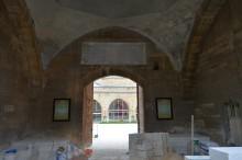 Ekmekçizade Ahmet Pasha Caravanserai in Edirne - during the renovation in October, 2013