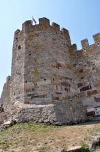 Enez Castle - restored section
