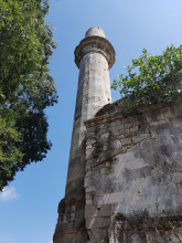 Evliya Kasim Pasha Mosque in Edirne - the broken minaret