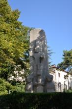 A replica of Fasıllar Monument at the Anatolian Civilizations Museum in Ankara