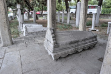 Fatma Sultan Cemetery in Edirne - the Sarcophagus of Fatma Sultan
