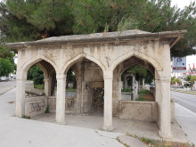 Fatma Sultan Cemetery in Edirne - the namazgah (open prayer area)