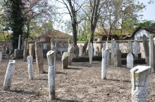 Cemetery of Gazi Mihal Mosque in Edirne