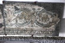 Dekoracyjne obramowanie mozaiki