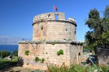 Hıdırlık Tower in Antalya