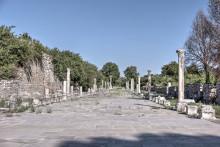 Arcadiane (Harbour) Street in Ephesus