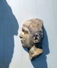 Portrait of a pensive boy, found near the Middle Harbour Gate, Ephesos Museum, Vienna