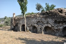 Roman baths in Stratonicea