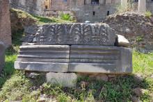 Milliarium Aureum w Rzymie