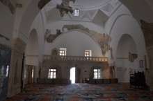 Interior of Muradiye Mosque in Edirne