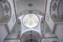 Interior of Bodrum Mosque