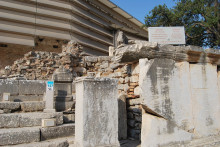 Octagon fragments in Ephesus