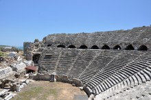 Roman theatre in Side