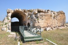 Saint Thecla - the largest cistern, Silifke, Mersin Province