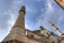 Selimiye Mosque in Edirne