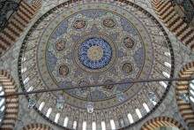 Selimiye Mosque in Edirne - the interior