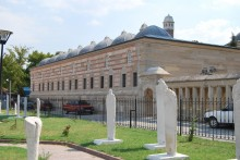 Selimiye Mosque Ottoman Gravestones Exhibition in Edirne