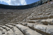 Theatre in Aspendos - auditorium
