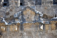 Theatre in Aspendos - detail