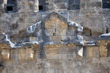 Theatre in Aspendos - detail