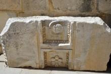 Theatre in Aspendos -detail