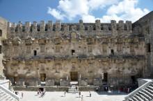 Theatre in Aspendos - skene