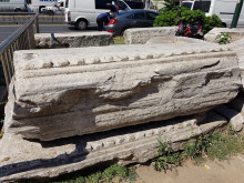 Fragmenty Forum Teodozjusza przy placu Bejazyda
