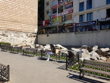Theodosius Forum fragments near Beyazıt Square in Istanbul