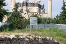 Selimiye Square excavations, Edirne, June, 2017