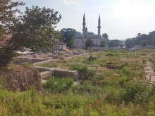 Selimiye Square excavations, Edirne, June, 2017