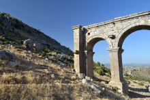 The monumental gate of Ariassos