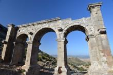 The monumental gate of Ariassos