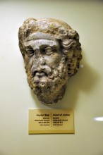 Head of statue from Cyzicus in Bandirma Museum, 300 - 30 BC