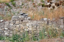 Phrygian city wall in Daskyleion