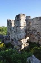 Tyche temple in Diocaesarea
