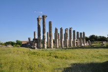 Zeus Olbios Temple in Dioceasarea