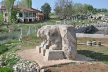 Three bulls monument in Eflatun Pınar