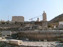 A circular building in Ephesus