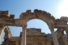 Hadrian's Temple in Ephesus