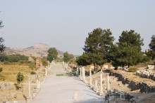 Arcadian (Harbor) Road in Ephesus
