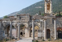 Gate of Mazeus and Mythridates in Ephesus