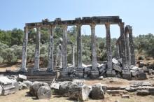 Zeus Lepsynos Temple in Euromos