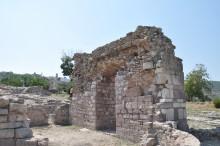 Roman period ruins in Gülpınar