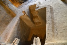 Baptistery or wine-production tub? Gaziemir in Cappadocia