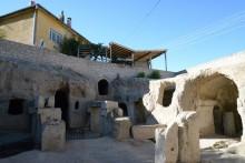 Courtyard in Gaziemir, Cappadocia