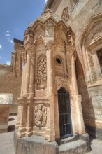 Ishak Pasha Palace - the mausoleum