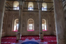 Ishak Pasha Palace - interior of the mosque