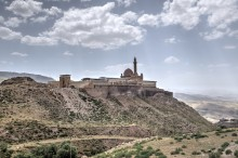 Ishak Pasha Palace - general view